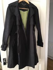 Pre Owned -Ted Baker Size 3 (Uk12) Black Mac.