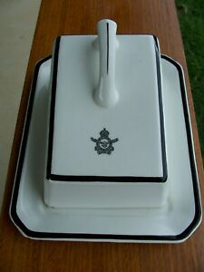 RAAF CHEESE PLATE 1940--1952 By North Staffordshire Pottery England