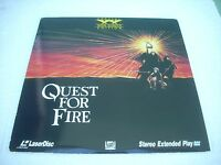 QUEST FOR FIRE - Widescreen Edition / MOVIE USA Laserdisc