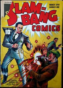 SLAM BANG COMICS (1940 Series) #1 Not CGC CBCS