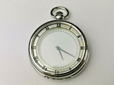 with Roman Numerals, Working, Quartz Watch Nice Modern Quartz Mens Pocket Watch