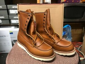 """100% AUTHENTIC RED WING 10877 """"IRISH SETTER""""WORK BOOTS NEW IN BOX MADE IN USA"""