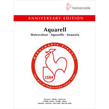Hahnemuhle Anniversary Edition 425gsm WC Block 24x32cm, 15 Sheets