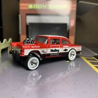 Hot Wheels /'55 Chevy Blue Flames Gasser/' CUSTOM Decal 15555bf