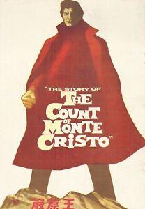 The Count of Monte Cristo(19 p61) Louis Jourdan ORIGINAL JAPANESE MOVIE PROGRAM