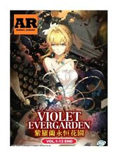 English dubbed of Violet Evergarden (1-13End) English sub Anime DVD Region 0