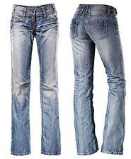 Timezone Damen Jeans Hose Break 3212 hellblau  Neuware  Bootcut