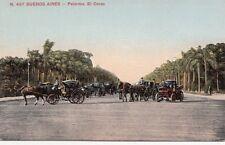 B77032 palemo el corso horses  buenos aires argentina scan front/back image