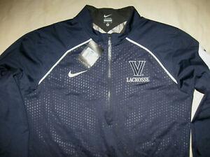 Villanova Wildcats Lacrosse Pullover Nike New W/Tags Track Tacket Men's Medium