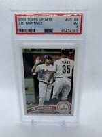 2011 Topps Update JD Martinez PSA 7 #186 Astros RC Rookie