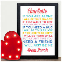 Gifts for Best Friends Personalised Christmas Birthday Gift for Friends Daughter