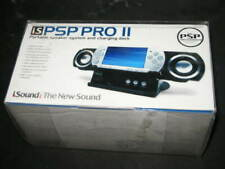 iSound PSP Pro II Portable Speaker System & Charging Dock for Sony PSP - New!