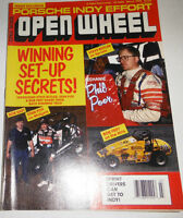 Open Wheel Magazine Steve Butler & Porsche Indy March 1990 080814R