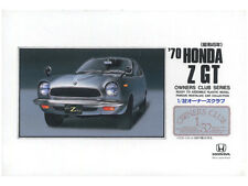 NEW ARII 1970 HONDA Z GT 1/32 Scale PLASTIC MODEL KIT OWNERS CLUB SERIES