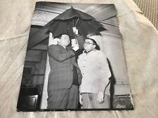 Jacques grello and robert rocca-original press photo 21x27cm