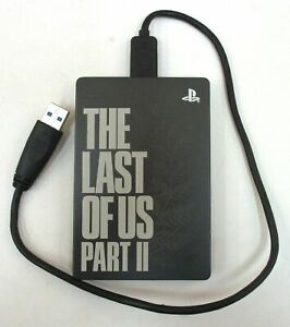Seagate PS4 Game Drive 2TB The Last of Us Part II PlayStation USED AS-IS