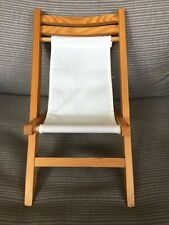 Folding Beach Chair For Babydoll Or Teddybear