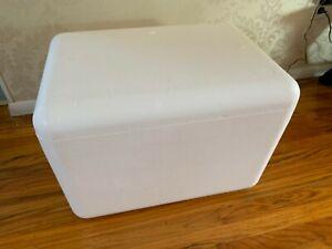 Styrofoam Insulated shipping cooler Box Large 24 x 17 x 17 20 x 13 x 12