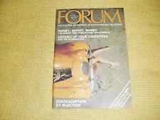 rare oop FORUM Vol 7 No 6 Jun 1979 Australian Journal Of Interpersonal Relations