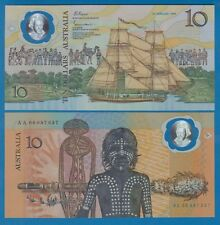 """Australia 10 Dollars P 49 a 1988 UNC Polymer """"WITH DATE"""" Low Shipping P-49a SHIP"""