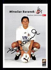 9 Autogrammkarten 1 FC Köln 2000-01 Original Signiert+A 156859