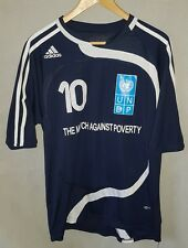 Adidas 5th Match Against Poverty 2008 Shirt Zidane 10 France Real Madrid