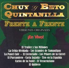 Chuy Quintanilla y beto quintanilla Frente a Frente En Vivo Puros Corridos Chaka