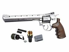 Dan Wesson 8 CO2 BB Revolver Silver Kit  2500 BBs 5 CO2 cartridges - 0.177 cal