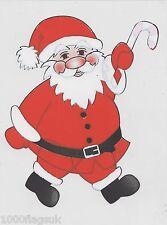 Christmas Cling On Vinyl Car Window Sticker - Father Christmas cc15
