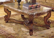 CLASSY TARANTULA STYLE MARBLE TOP COCKTAIL COFFEE OCCASIONAL TABLE FURNITURE