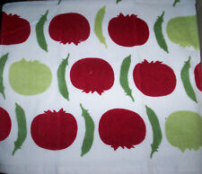 NEW BEAUTIFUL KITCHEN HAND DISH VELOUR TOWEL * Tomatoes & Peas SOFT *