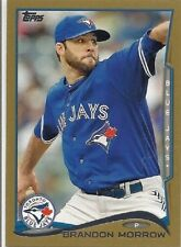 Brandon Morrow Toronto Blue Jays Gold # 95 # 312/2014 Baseball Card