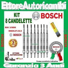 8 CANDELETTE BOSCH AUDI Q7 (4L) 4.2TDI 250 240KW 2009-> NUOVE 0250403009