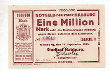 bay1249  Nabburg,  1 Mio Mark
