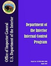 Audit Report: Department of the Interior Internal Control Program by...