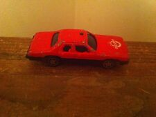 Vintage Unknown Toy Car Made China Fire Dept Department Engine Emergency Vehicle