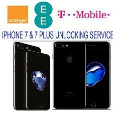 IPhone 7 & 7 PLUS Sblocca UK EE TMobile, Arancione (bloccato / inserito nella blacklist supportato)