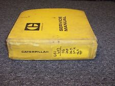 CAT Caterpillar 631 633 Wheel Tractor Scraper Shop Service Repair Manual Guide