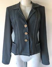 Nanette Lepore Vintage Gray Blazer Size 2