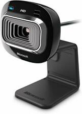 Microsoft LifeCam HD-3000 USB Web Camera True 720p HD Skype Mic Video Chat