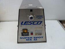 LESCO SUPER SPOT MK II UV CURING SYSTEM