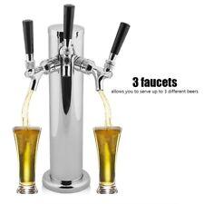 3 Taps Domestic Draft Beer Dispenser Kegerator Conversion Kit DIY Home Brew Bar