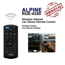New & Authentic ALPINE RUE-4350 IR Infrared Wireless Remote Control Car Stereo