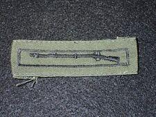 Vietnam War US Army Expert Infantryman Badge Embroidered Uniform Removed VG+