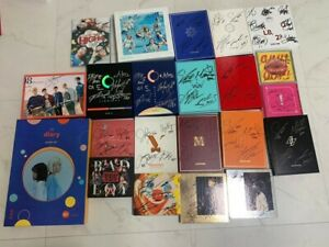 KPOP IDOL BOYS, GIRLS GROUP PROMO ALBUM Autographed ALL MEMBER Signed #1018