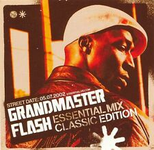 Grandmaster Flash Essential Mix: Classic Edition RARE promo sticker '02