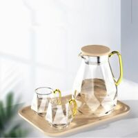 Large Capacity Heat Resistant Kettle  Transparent Glass Home Table Kitchen-ware