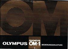 OLYMPUS OM-1 - NOTICE - Bedienungsanleitung - Allemand -