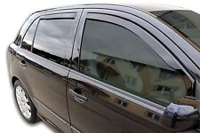 DSK28312 Skoda Fabia MK1 2000-2007 wind deflectors 4pc set TINTED HEKO