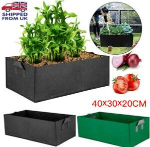 GREEN Reusable Grow Bag Planter Vegetable Tomato Potato Carrot Garden Plant Pot